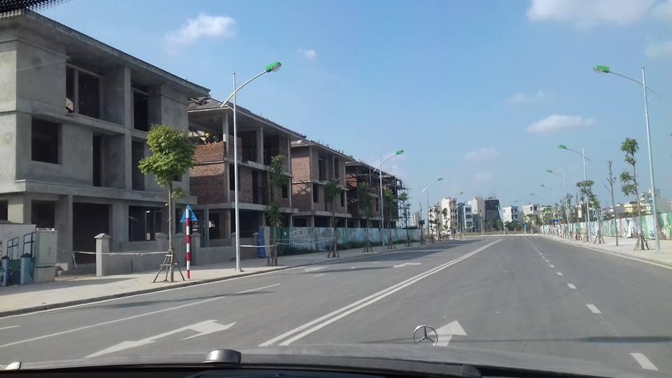 Cập nhật tiến độ xây dựng biệt thự An Phú Shop Villa tháng 4/2017