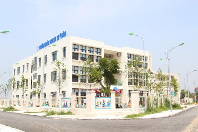 Hệ thống trường học liên cấp đạt chuẩn, hiện đại nhất phía Tây Thủ đô