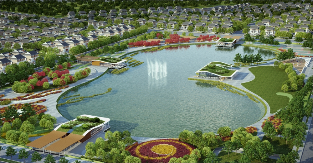 Tiện ích tại khu đô thị mới Dương Nội