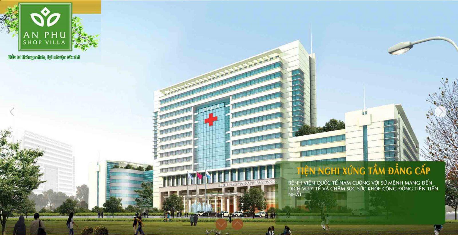 Bệnh viện quốc tế tại An Phú Shop Villa