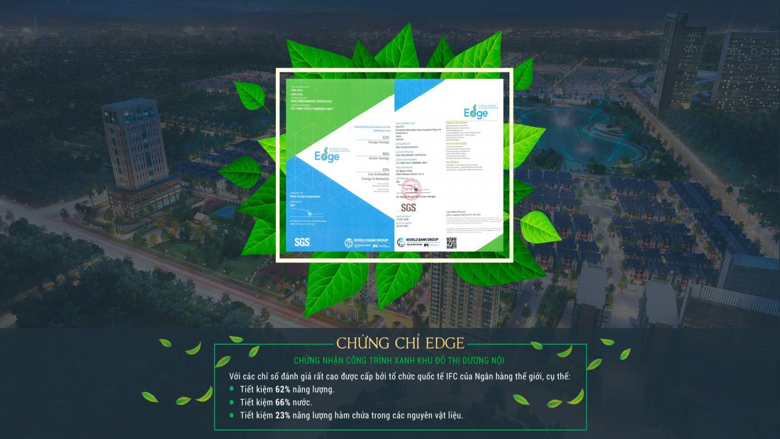 Khu đô thị Dương Nội được thiết kế và xây dựng theo tiêu chuẩn một đô thị Zero Energy